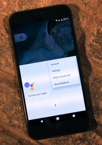 cell phone google assistant